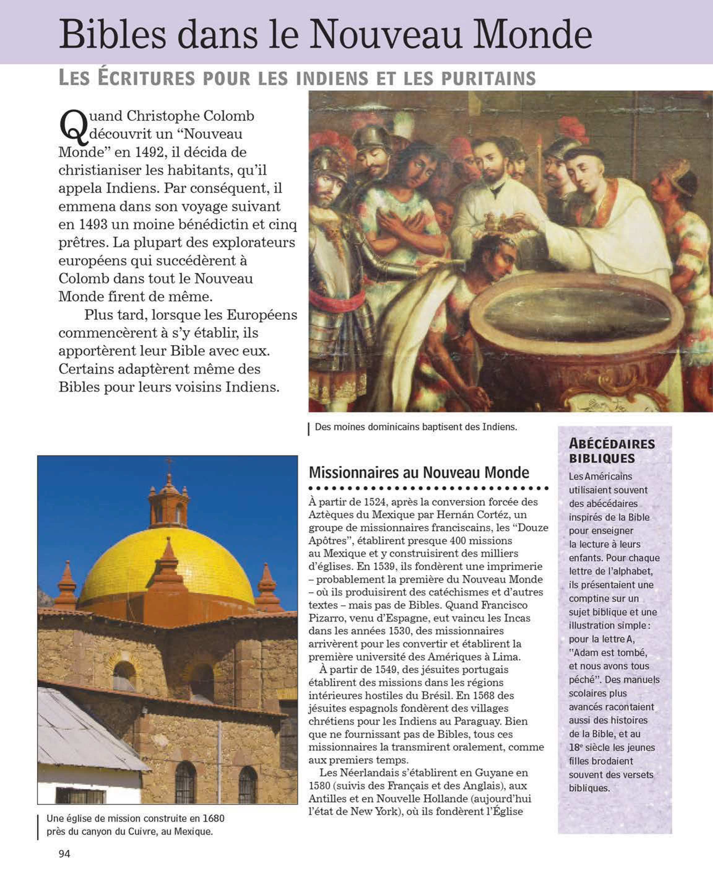 La Bible, Guide historique illustré