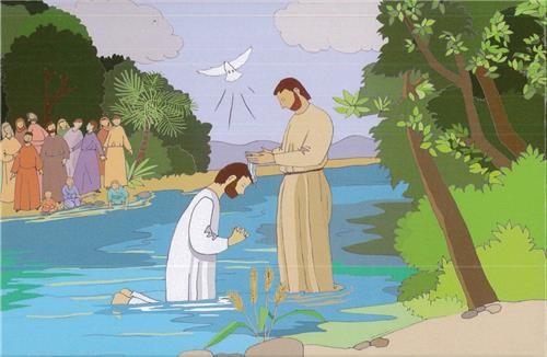 Puzzle le baptême du Christ