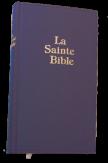 Bible Darby Grand Format - simili cuir bleu semi rigide