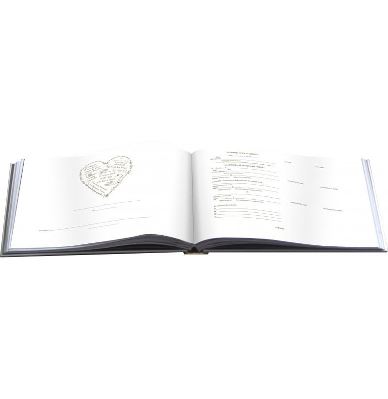 achetez un registre des mariages pour votre eglise