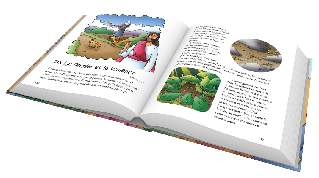 Extrait des 1000 histoires favorites de la Bible