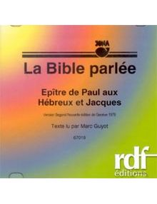 CD Epître aux Hébreux et Jacques