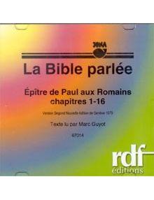 CD Epitre de Paul aux Romains 1 à 16