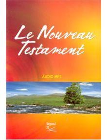 CD Le Nouveau Testament (Version Segond 21) audio MP3