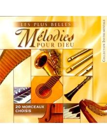 CD Les plus belles mélodies pour Dieu