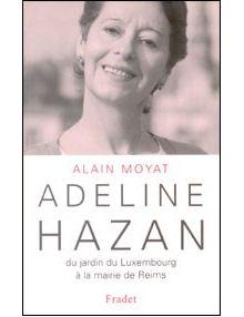 Adeline Hazan du jardin du Luxembourg à la mairie de Reims