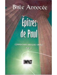 Bible annotée : Epîtres de Paul NT3