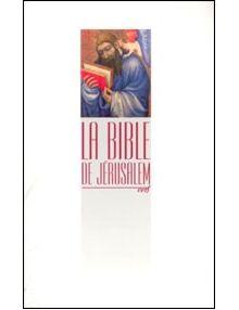 Bible de Jérusalem Format Poche blanche Brochée