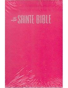 Bible Louis Segond 1910 fuschia ESA728