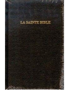 Bible Louis Segond 1910 Miniature rigide noire avec onglets Ref 1046