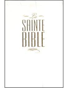 Bible Louis Segond 1910 rigide blanche ESA244