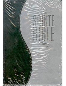 Bible Louis Segond 1910 similicuir duo gris et vert ESA317