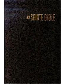 Bible Louis Segond confort noire ESA674
