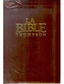 Bible Thompson version Segond La Colombe Luxe