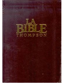 Bible Thompson version Segond La Colombe avec onglets ref.002