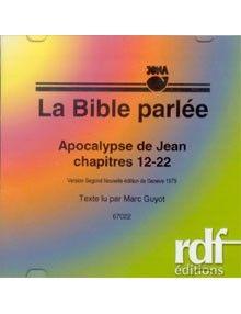 CD Apocalypse de Jean 12 à 22